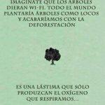 Imagínate que los árboles dieran wi-fi…