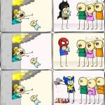 Eficacia de distintos superhéroes en un incendio