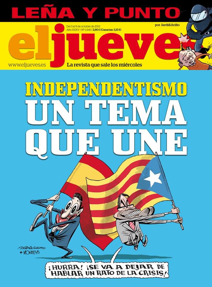 El independentismo, un tema que une