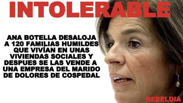 Los negocios de Ana Botella y el marido de Cospedal