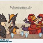 No sentar juntos a Ironman y Magneto