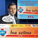 IVA selina, 10 de cada 10 políticos del PPSOE lo recomiendan
