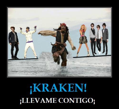 ¡Kraken, llévame contigo!