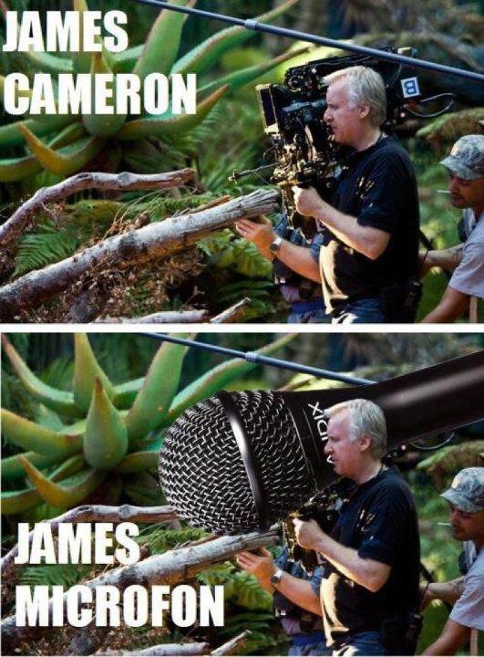 James Cameron / James Microfon