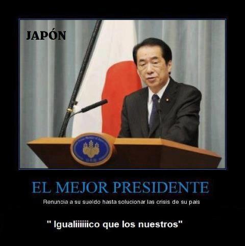 Política en Japón vs política en Españistán