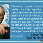 """Jean Ziegler: """"España no debería pagar su deuda porque es delictiva e ilegítima"""""""