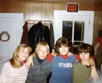 Jennifer Aniston de adolescente