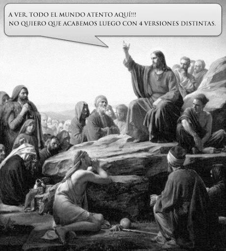 Mensaje de Jesucristo a sus discípulos