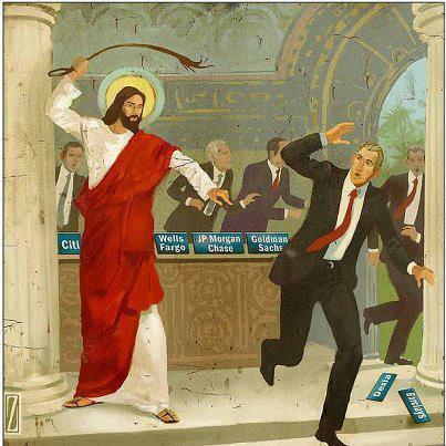 Jesucristo fustigando a los mercaderes