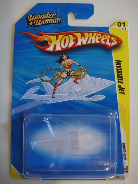 Jet invisible de Wonder Woman