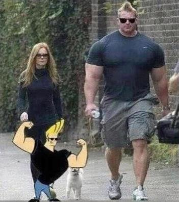 johnny bravo real