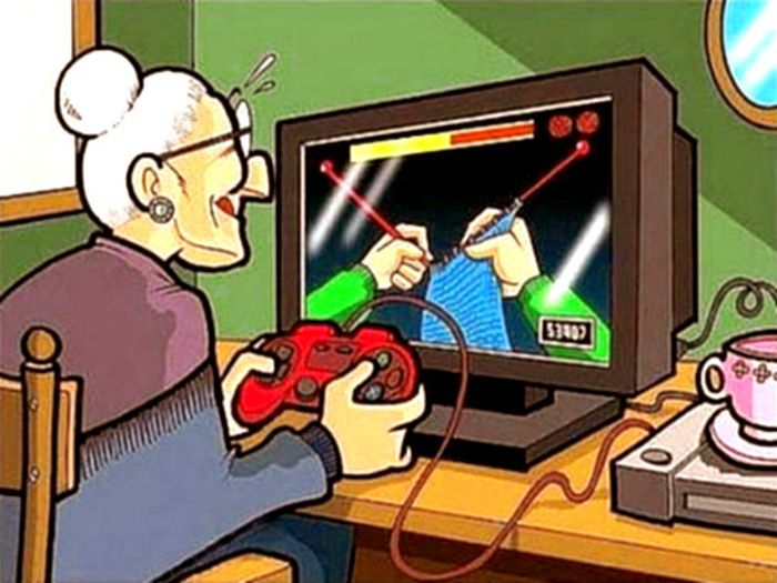 Nuevo juego para abuelas