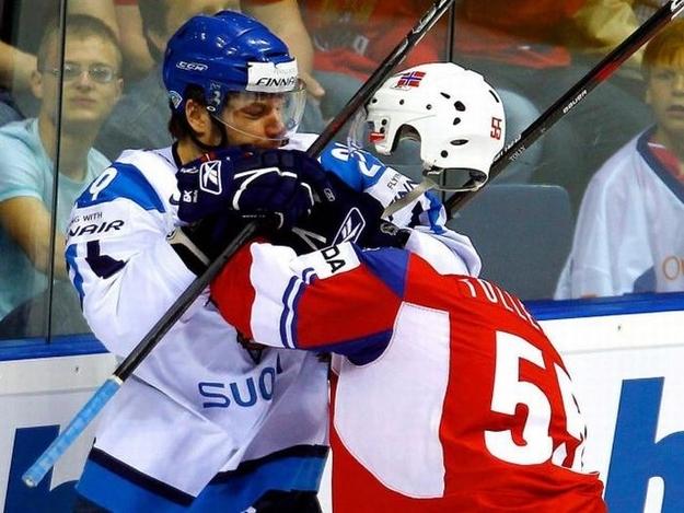 El jugador de hockey sin cabeza