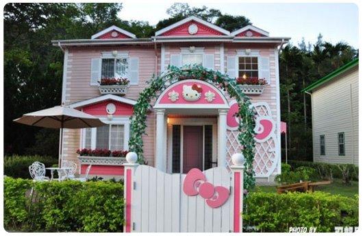 La casa de Hello Kitty