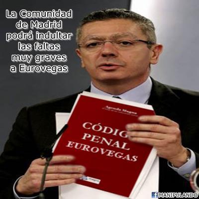 Nuevo Código Penal Eurovegas