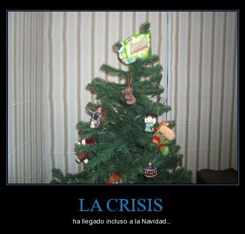 La crisis llega a la Navidad