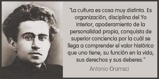 La cultura, según Antonio Gramsci
