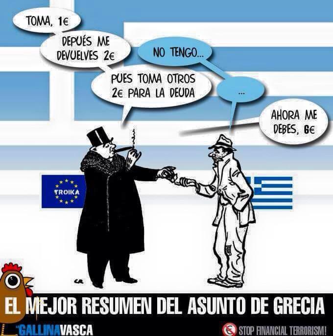 Explicación resumida de la deuda griega