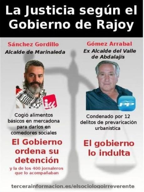 La Justicia según Rajoy