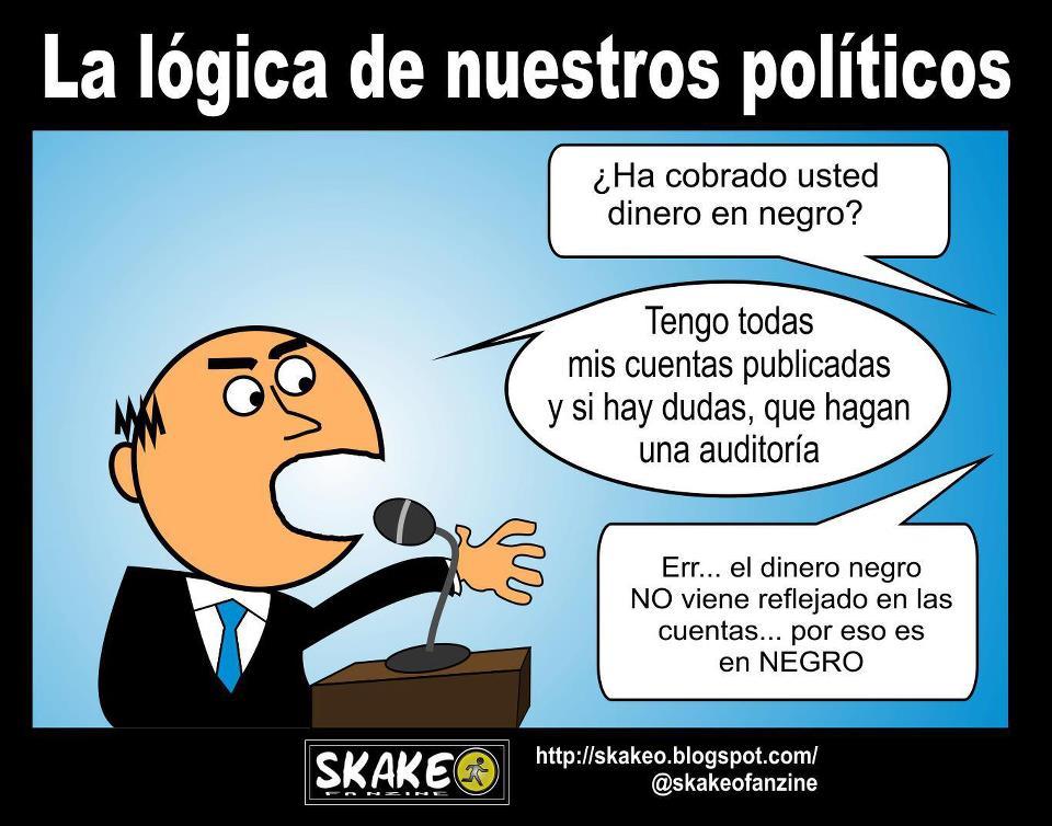 La lógica de nuestros políticos