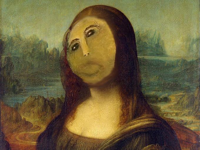 La Mona Lisa restaurada por Doña Cecilia