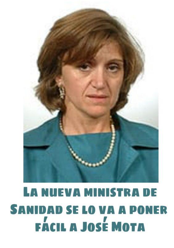 La nueva ministra de sanidad española se lo va a poner fácil a José Mota
