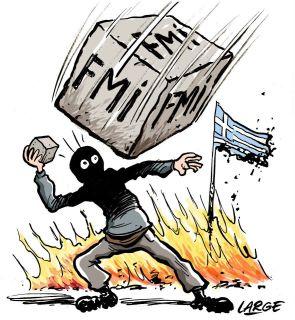 La piedra del FMI