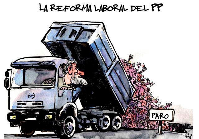 Reforma laboral del PP