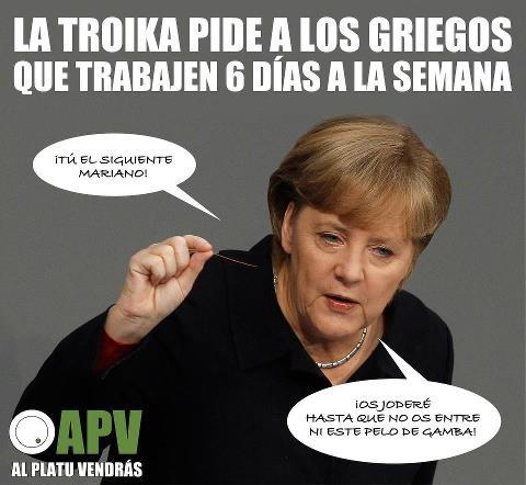 La Troika pide a los griegos que trabajen 6 días a la semana