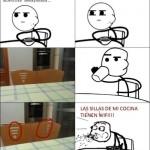 Las sillas de mi cocina
