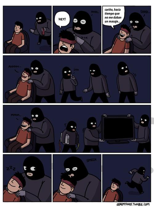 Nuevo método de robo