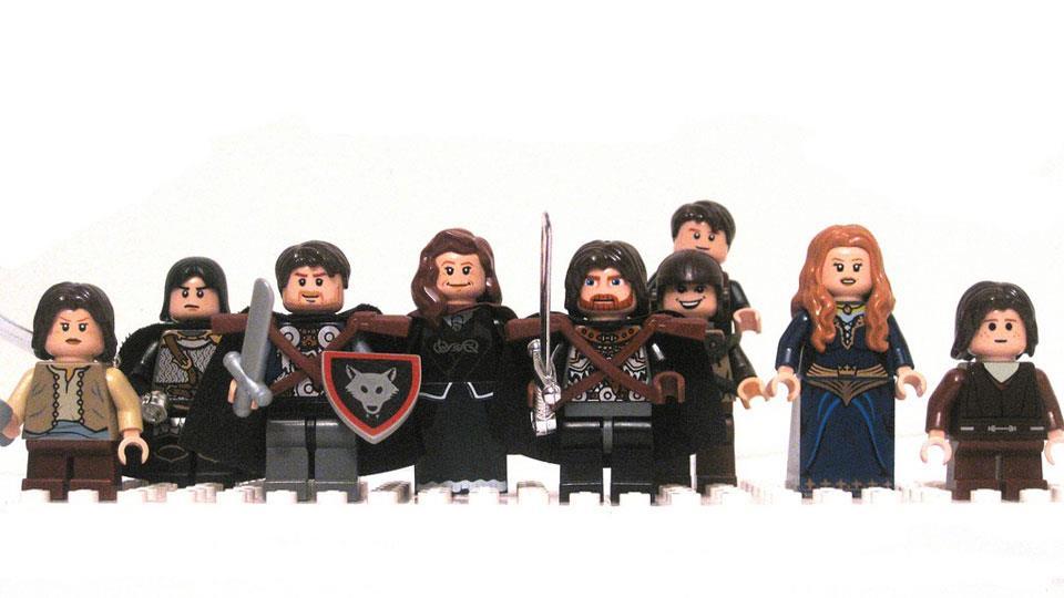 Lego - Juego de tronos