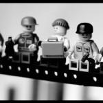 Lego – Obreros en una viga