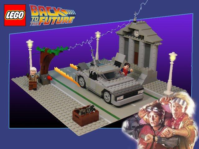 Lego - Regreso al Futuro