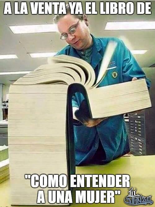 A la venta el libro de 'Cómo entender a una mujer'