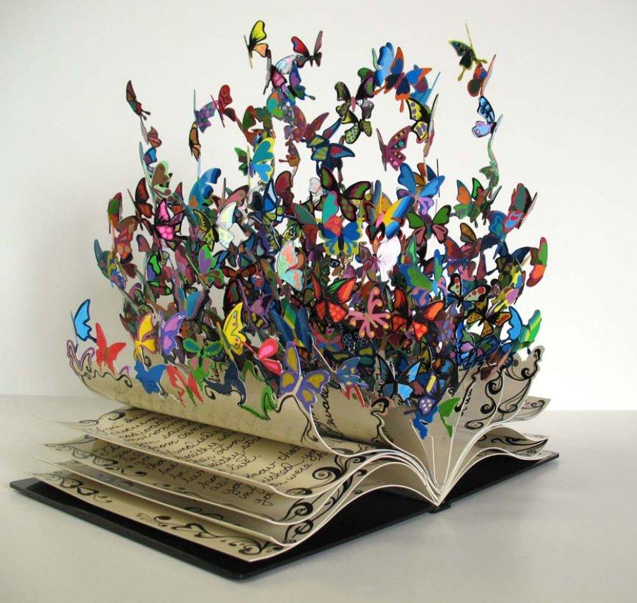 Libro transformándose