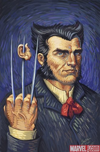 Lobezno encuentra la oreja de Van Gogh