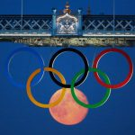 Logo Juegos Olímpicos y Luna