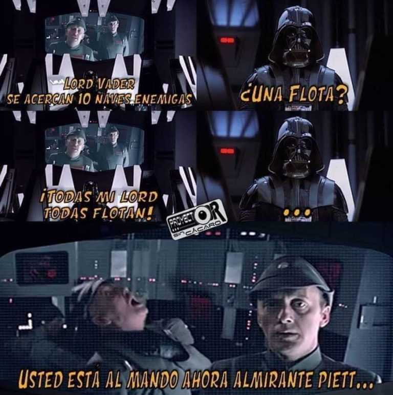 No trolear a Lord Vader