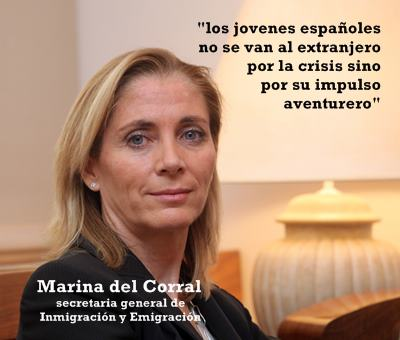 Los jóvenes españoles no se van al extranjero por la crisis sino por su impulso aventurero (Marina del Corral)