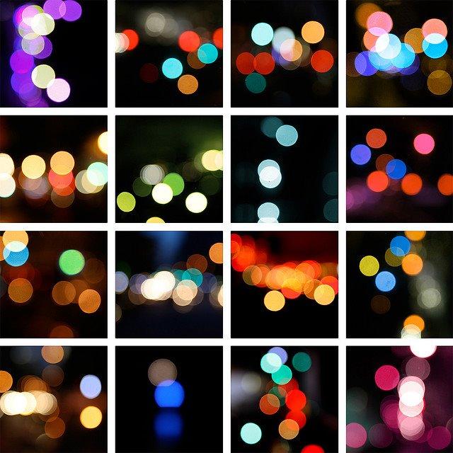 Luces desenfocadas