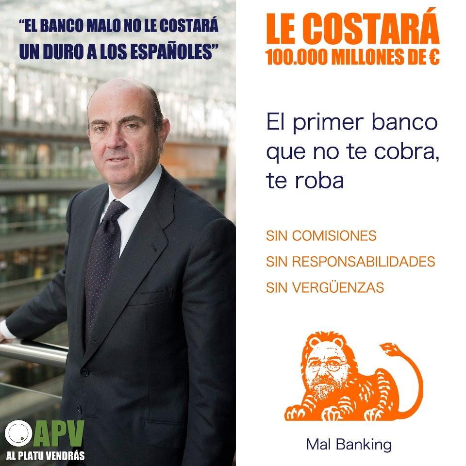 ¿Cuánto costará a los españoles un banco malo?