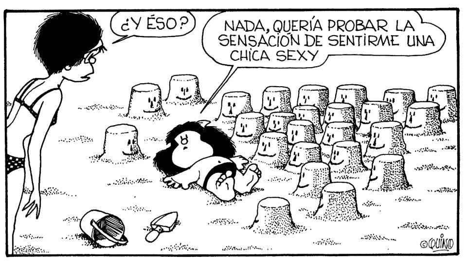 Mafalda - Quería probar la sensación de sentirme una chica sexy