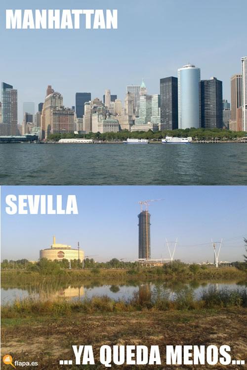 Manhattan-Sevilla - Ya queda menos