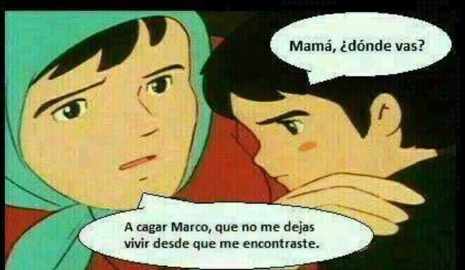 Marco por fin encuentra a su madre