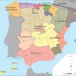 Mapa de España – Juego de Tronos