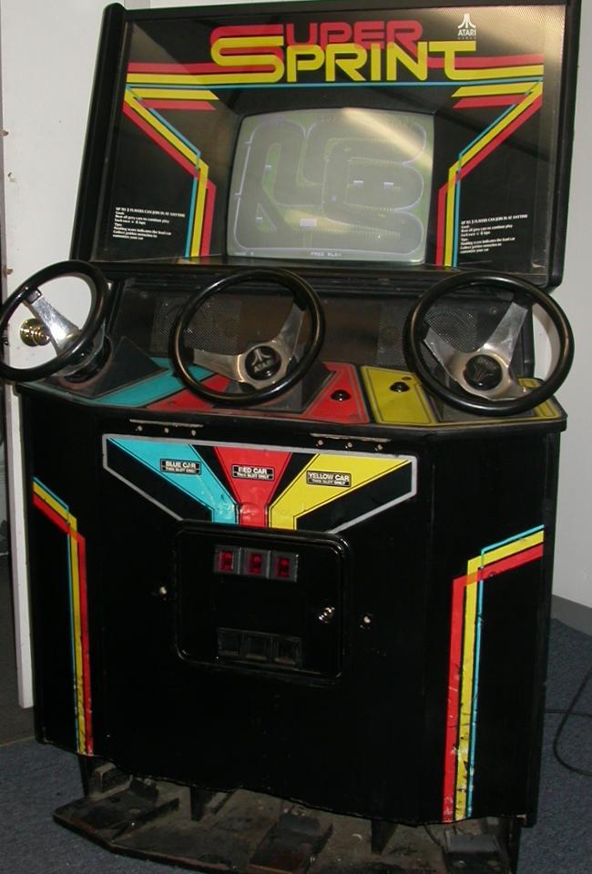 maquina videojuego mitico super sprint