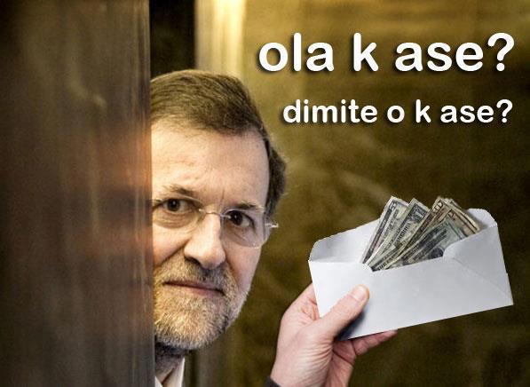 Rajoy - Dimite o k ase