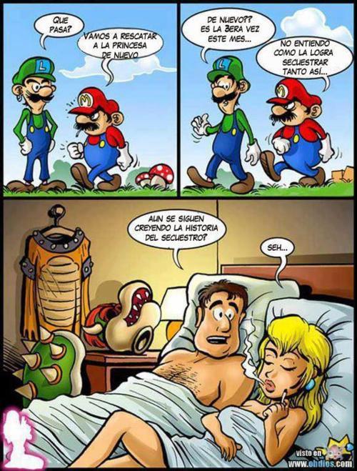 Mario Bros - Otra vez a rescatar a la princesa