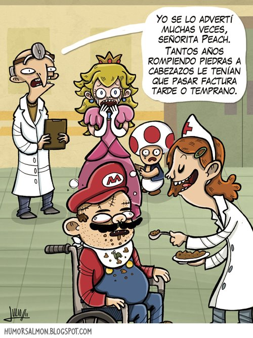 Mario Bros retirado